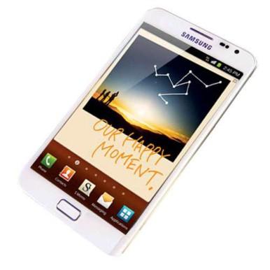 Stigao je i beli Samsung Galaxy Note