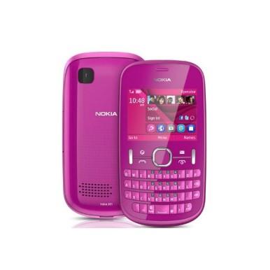 Nokia Asha 201 u pin boji