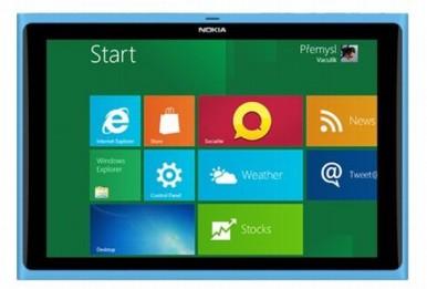 Nokia tablet sa WP8 OP