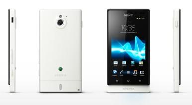Sony Xperia Sola u beloj boji