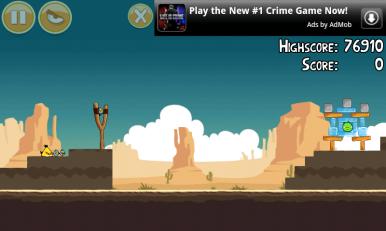 Kod Angry Birds-a, 75% energije koju troši aplikacija u stvari uzima reklama