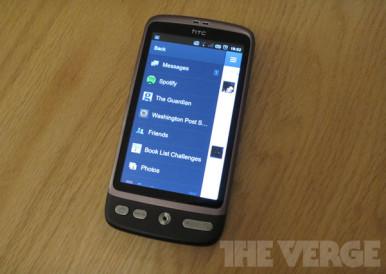Facebook telefon od HTC-a