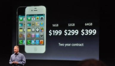 Uz ugovor iPhone 4S u nekim zemljama košta drastično manje, jer operater preuzima deo cene samog telefona