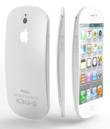 iPhone 5 sa zaobljenim linijama