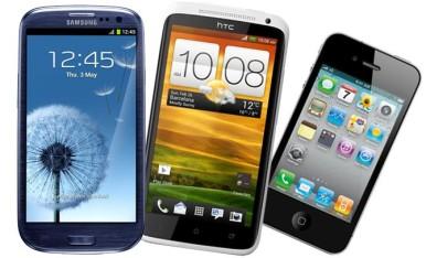 Samsung Galaxy S3 imaće glavne konkurente u modelima iPhone 4S i HTC One X