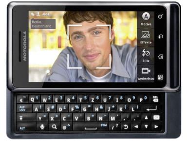 Motorola Milestone 2 ima kameru od 5 megapiksela