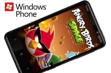 Angry Birds Space za Windows telefone