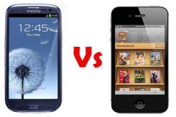 samsung galaxy s3 vs iphone 4s 1