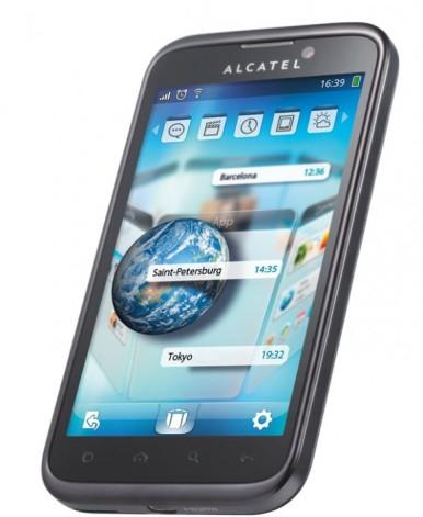 Alcatel OT-995 ima velikodušni ekran od 4,3 inča