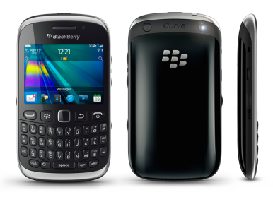 BlackBerry Curve 9320 ima standardni BlackBerry dizajn