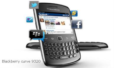 BlackBerry Curve 9320 - prosečan BlackBerry sa starim šmekom