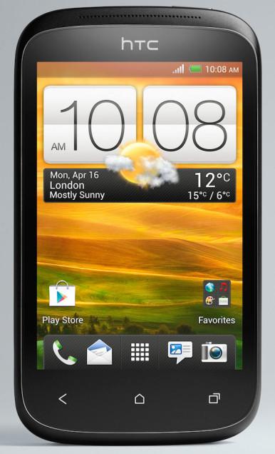 HTC Desire C deluje jednostavno i klasično, ali ujedno i lepo