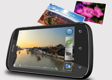 HTC Desire C ima ekran rezolucije320x480 piksela od 3,5 inča