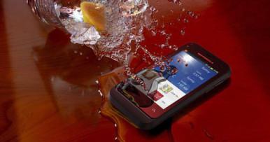 Motorola DEFY XT535 je u potpunosti otporan na vodu i prašinu