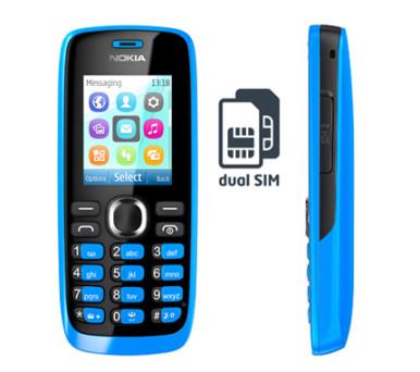 Nokia 110 - 2 SIM kartice, FM radio, proširiva memorija, društvene mreže