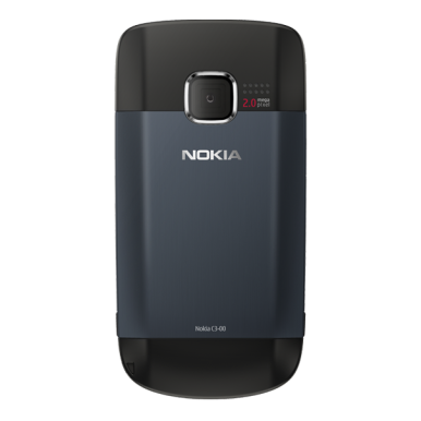 Nokia C3 ima kameru od 2 MP i memoriju proširivu do 8 GB