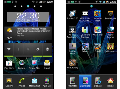Panasonic Eluga dL1 ima ekran rezolucije 540x960 piksela