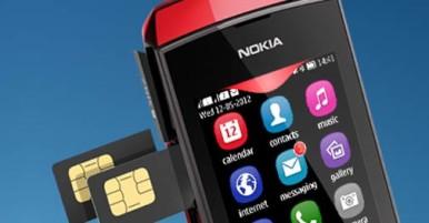 Nokia Asha 305 omogućava lako menjanje SIM kartica