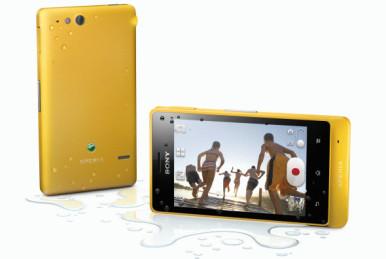Sony Xperia Go može da bude potopljen u vodi dubine do 1m