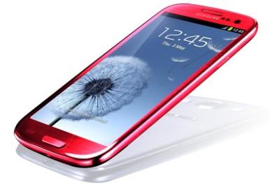 Crveni Samsung Galaxy S3 - BOMBA !