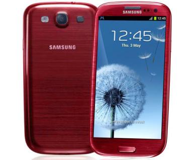 Crveni Samsung Galaxy S3