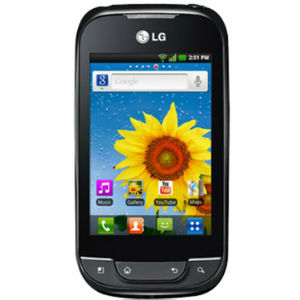 LG Optimus Net Dual P698 ima TFT ekran od 3,2 inča