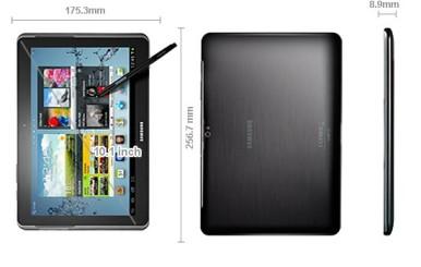 Samsung Galaxy Note 10.1 malo je otišao više u dimenzijama i težini