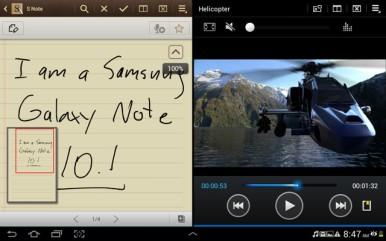 Samsung Galaxy Note 10.1 odlikuje mnoštvo fabričkih aplikacija i dobar multitasking