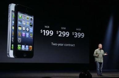 Cena novog iPhone 5 modela je pristupačnija nego što se očekivalo