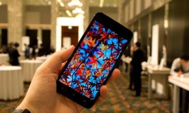Boje na novom HTC J Butterfly deluju prilično živo i jasno