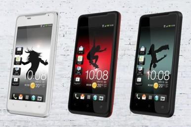 HTC J Z321e , dopadljiv dizajn