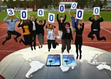 30 miliona ljudi širom sveta poseduje Samsung Galaxy S3 !