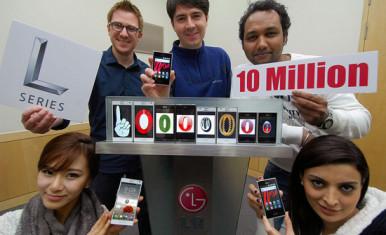 LG Optimus L - 10 miliona prodaja