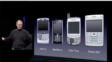 Pojavom iPhone-a tadašnji smartfonovi pali su u zaborav