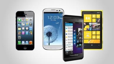 BlackBerry Z10 vs Samsung galaxy s3 vs iPhone 5 vs Nokia Lumia 920