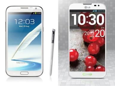LG Optimus G Pro se vidi kao glavni konkurent modelu Samsung Galaxy Note 2