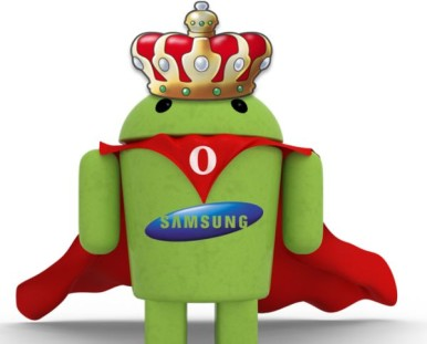 Samsung je kralj Android platforme