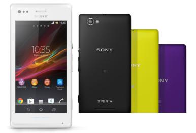 Najavljeno dostupne boje modela Sony Xperia M