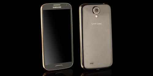 zlatni galaxy s4