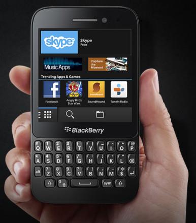 BlackBerry Q5 3