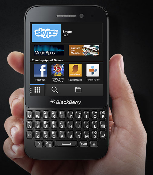 BlackBerry Q5 3