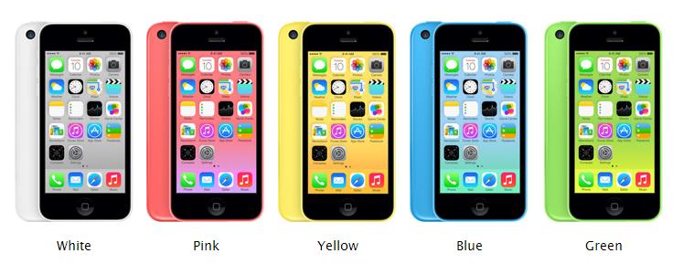 iPhone 5C 5