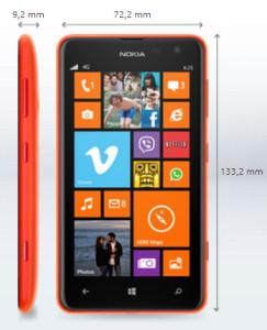 Nokia Lumia 625 4