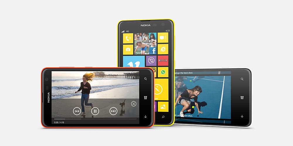 Nokia Lumia 625 5