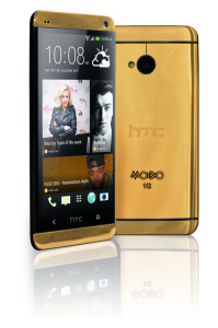 Zlatni HTC One 2