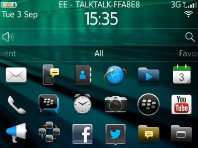 BlackBerry 9720 5