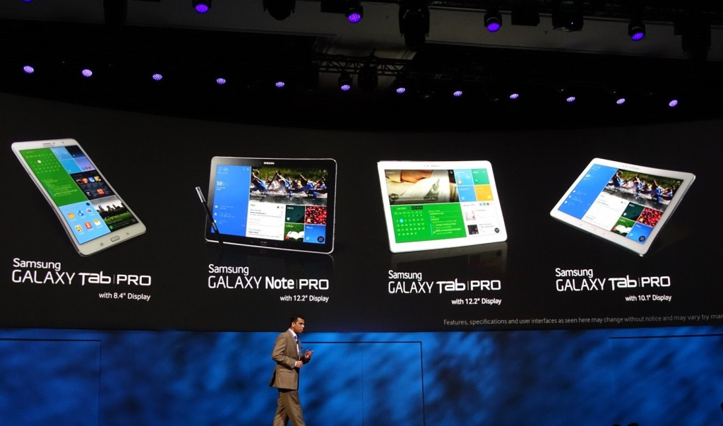 Galaxy TabPro i Galaxy NotePro 2