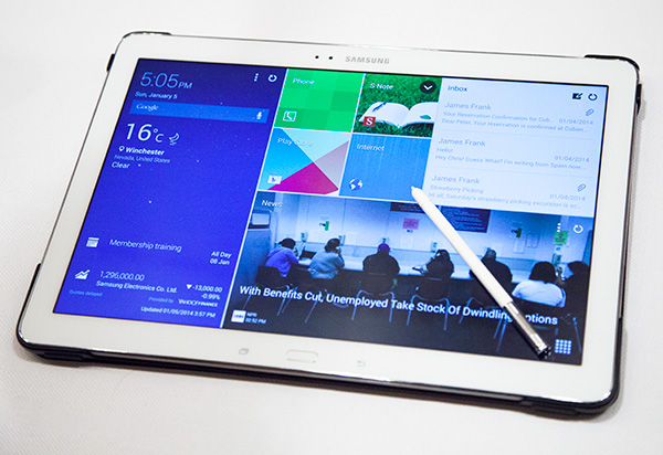 Galaxy TabPro i Galaxy NotePro 3