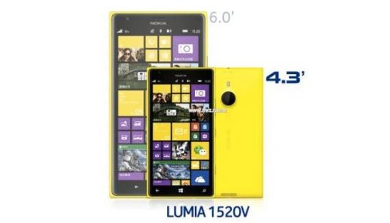 Lumia 1520 mini 2