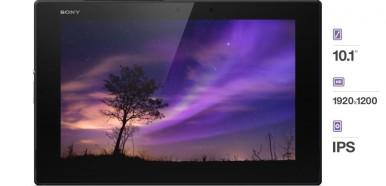 Sony Xperia Z2 tablet ekran